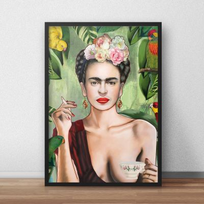 Exklusiv bei uns - Poster Frida by Nettsch