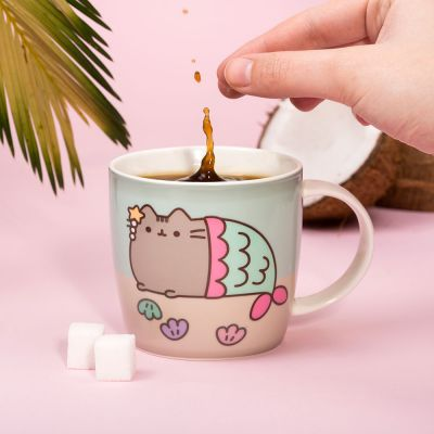 Kaffee und Tee - Pusheen Wärmeempfindliche Tasse