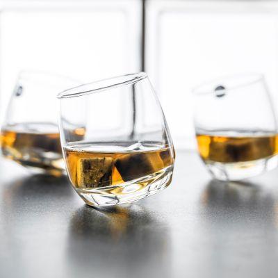 Geschenk für Freund - Rocking Whisky Schwenkgläser 6er Set
