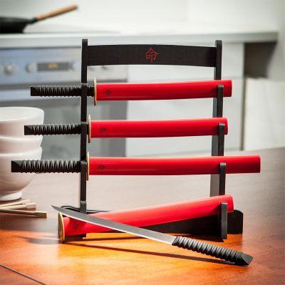 Geburtstagsgeschenk zum 50. - Samurai Küchenmesser Set