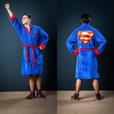 Weihnachtsgeschenke für Eltern - Superman Bademantel