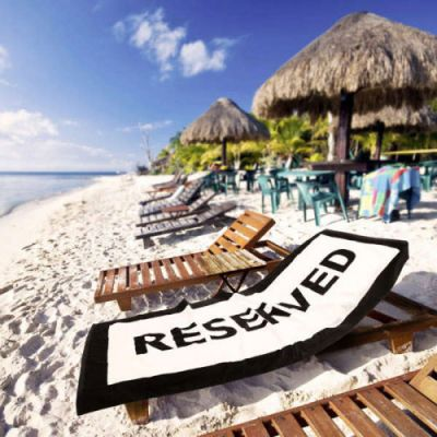 Reise Gadgets - Badetuch Reserved