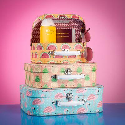 Reise Gadgets - Tropisches Kofferset