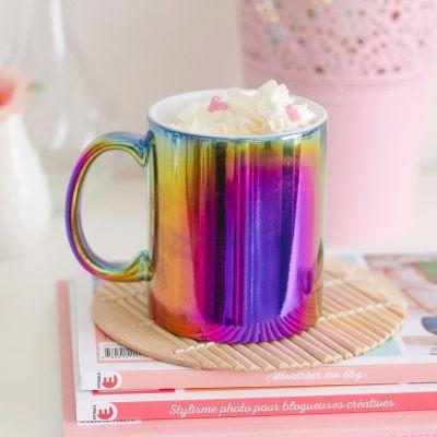 Tassen & Gläser - Bunt schillernde Tasse