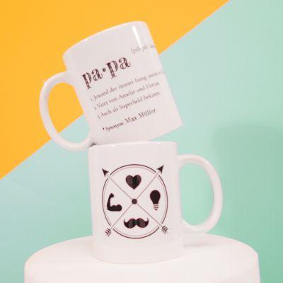 Personalisierte Tassen - Papa - Personalisierbare Tasse