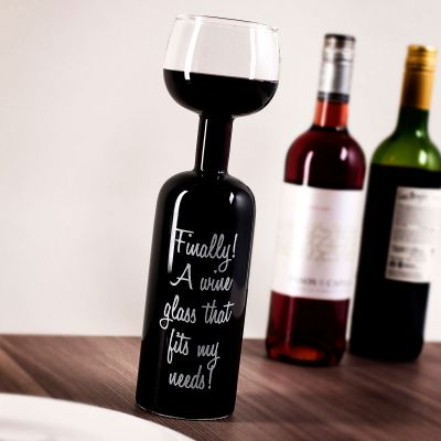 Geschenke für Frauen - Weinflaschen Glas