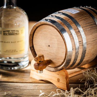 Geschenke für Papa - Whisky selbst machen - Set mit Eichenfass