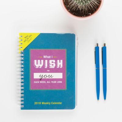 Bücher - Kalender What I Wish For You Each Week