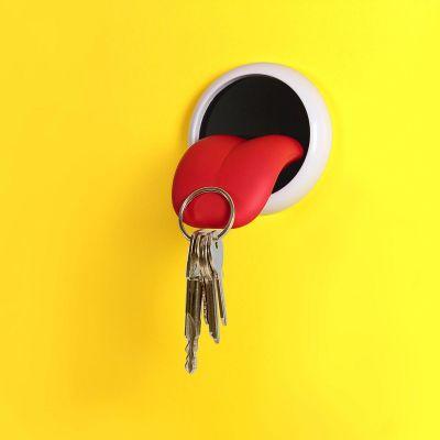 Deko - Magnetischer Schlüsselhalter Zunge