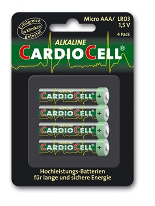 Cardiocell Batterie Micro AAA-LR03 4er Blister