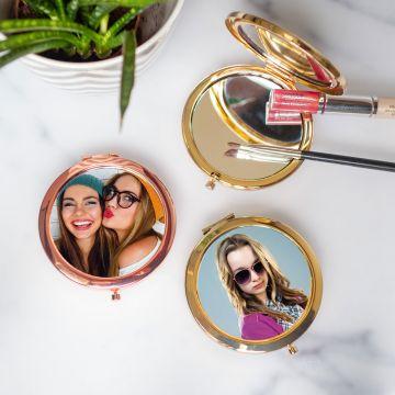Personalisierbarer Taschenspiegel mit Foto
