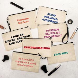 Personalisierbare Kosmetiktasche