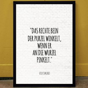 Zitate - Personalisierbares Poster