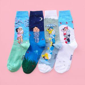 Liebespaar Socken
