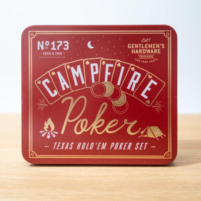 Lagerfeuer Poker-Set