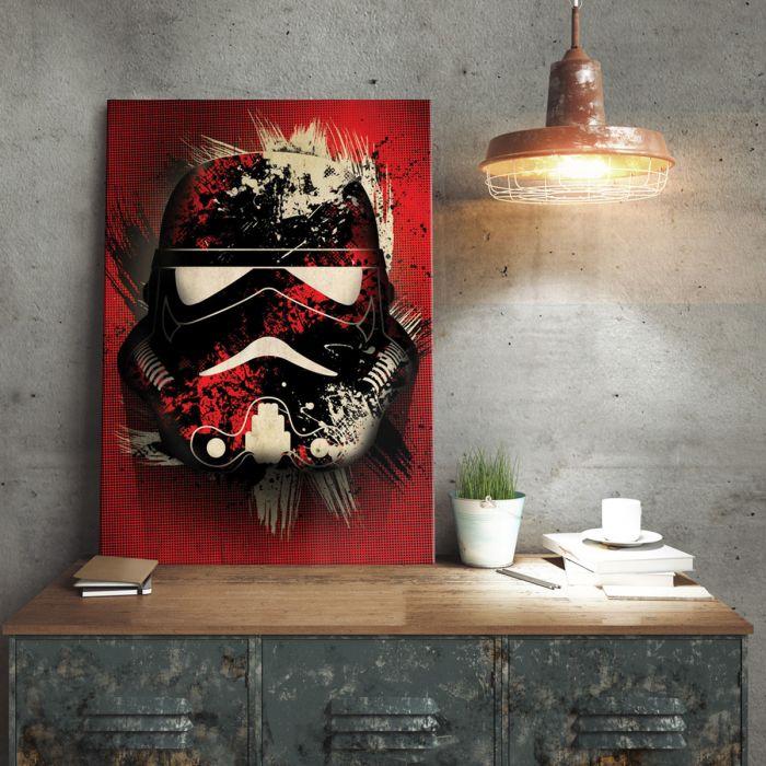 Star Wars Metallposter - Stormtrooper Splatter