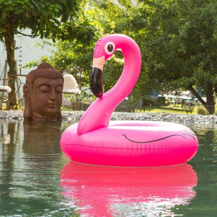 Pink Flamingo Schwimmreifen