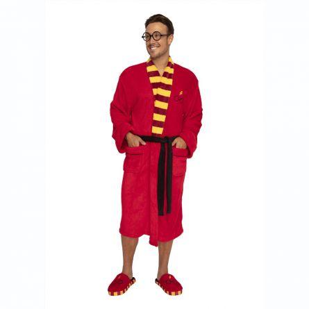 Harry Potter Bademantel mit Brille und Blitz