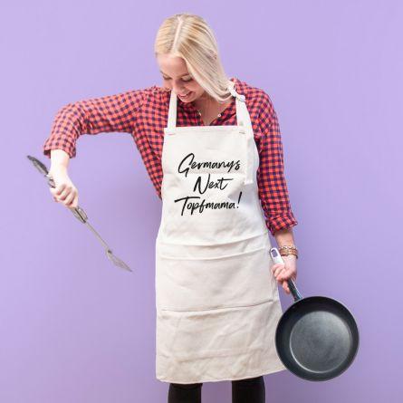 Personalisierbare Küchenschürze