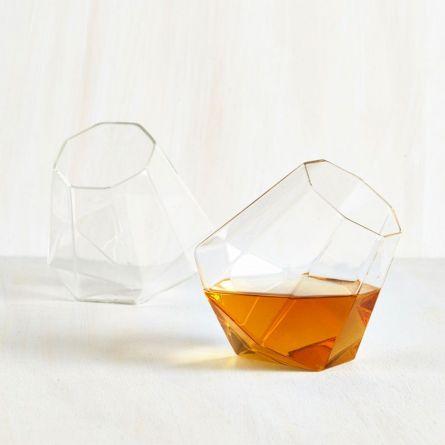 Diamant Whisky Gläser