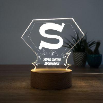 Wohnen - LED-Leuchte Superman