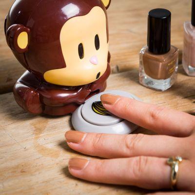Ostergeschenke - Nagellacktrockner Affe