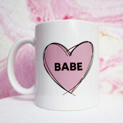 Romantische Geschenke - Babe Tasse