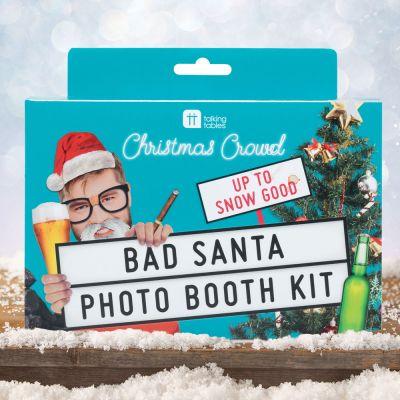 Wichtelgeschenke - Bad Santa Foto-Kit für Weihnachten