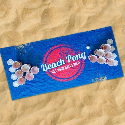 Draußen - Beach Pong Handtuch