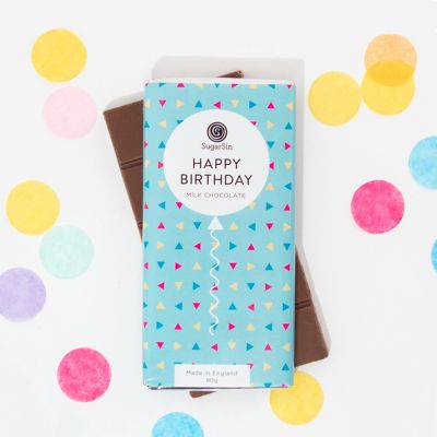 Geburtstagsgeschenk zum 40. - Happy Birthday Schokolade