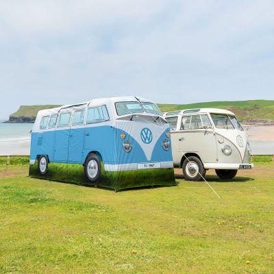 Draußen - VW Bus Zelt