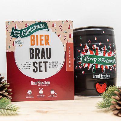 Geschenk für Freund - Bierbrau Set Weihnachts-Edition
