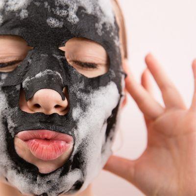 Badezimmer - Bläschen-Gesichtsmaske