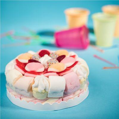Geschenk zum Abschluss - Fruchtgummi Torte