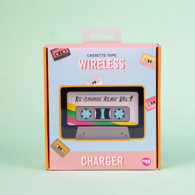 Weihnachtsgeschenke für Freundin - Drahtloses Ladegerät Kassette