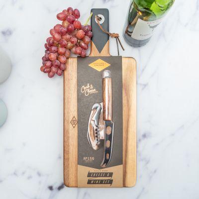 Küche & Grill - Servier-Set für Käse und Wein