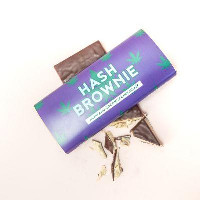 Exklusive Schokoladen - Hash Brownie Schokolade