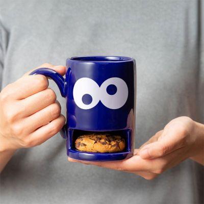 Kleine Geschenke - Monster-Tasse mit Keks-Fach