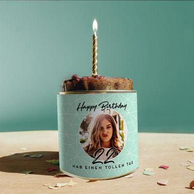 Essen & Trinken - Personalisierbarer Cancake zum Geburtstag