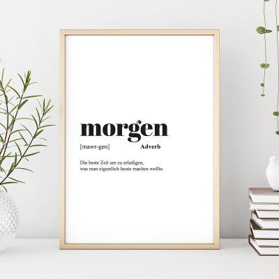 260d9325f4 Geschenke für Frauen - Personalisierbares Poster Wörterbuch-Eintrag