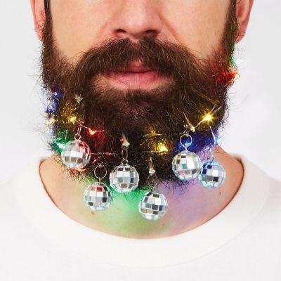 Witzige Geschenke - Disco Bart Dekoration