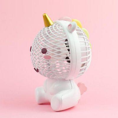 Spaß im Büro - Elodie Einhorn Ventilator mit USB
