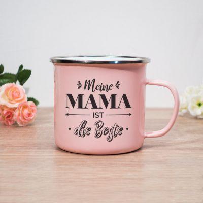 Muttertagsgeschenke - Metalltasse Meine Mama Ist Die Beste