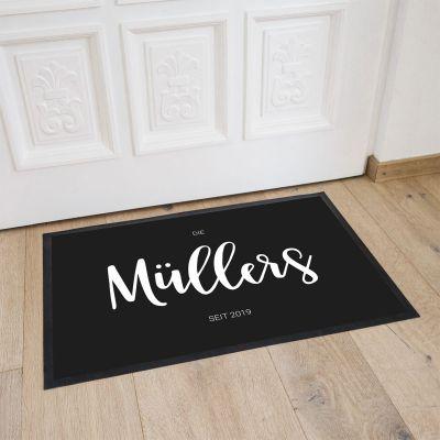 Weihnachtsgeschenke für Männer - Personalisierbare Fußmatte