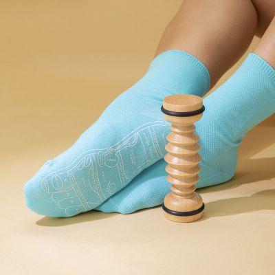 Wohnen - Reflexzonen-Fußmassage Set