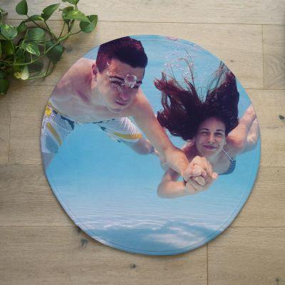 Personalisierte Badezimmermatten - Personalisierbare Badezimmermatte mit Foto
