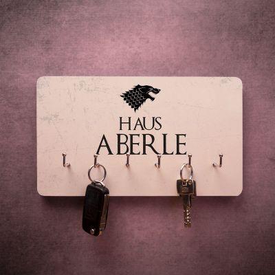 Film & Serien - Personalisierbares Schlüsselbrett mit Wappen