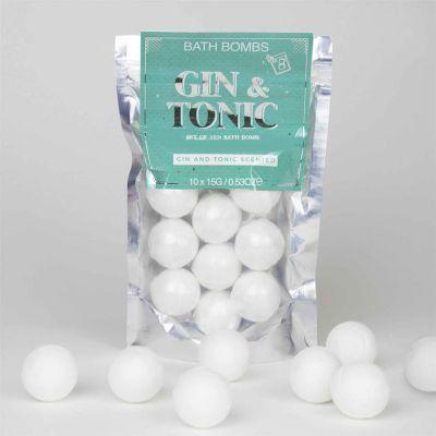 Weihnachtsgeschenke für Freundin - Gin Tonic Badebomben