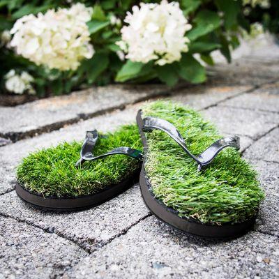 Ostergeschenke - Gras Flip Flops