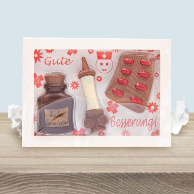 Süßigkeiten - Gute Besserung Schokolade-Set
